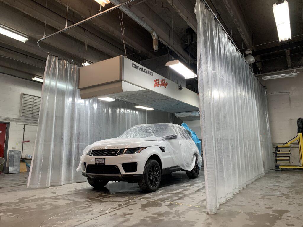 paint service iag collision center