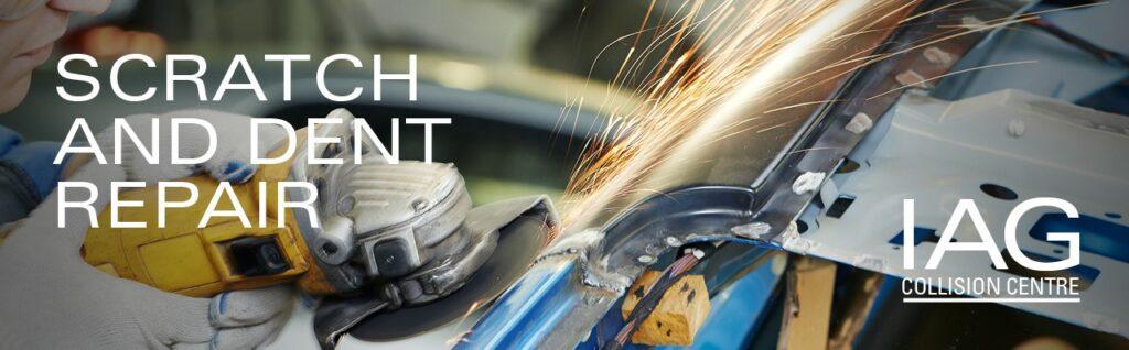 dent repair iag collision center